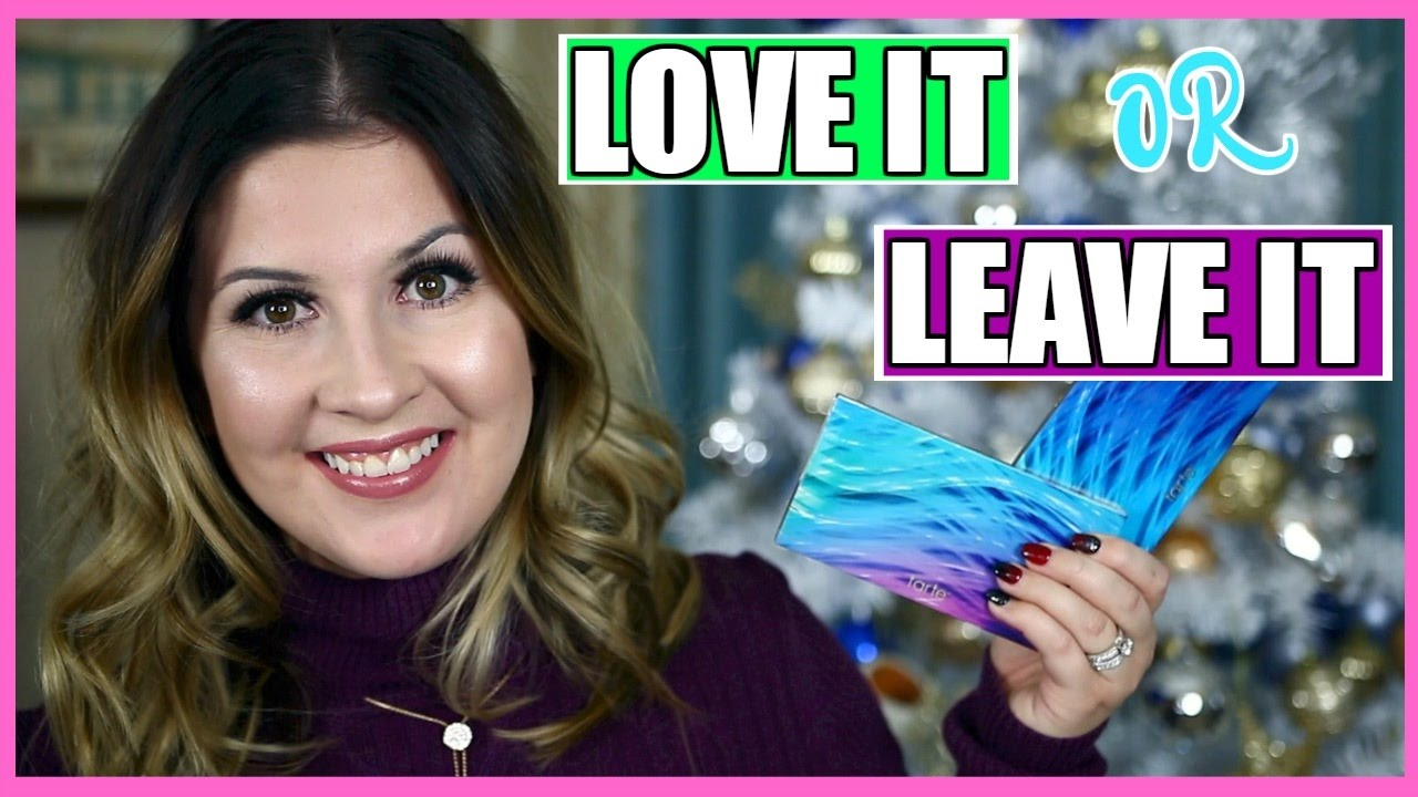 Tarte Rainforest Of The Sea Skin Twinkle Palette Vol 2 L Live Brush Swatches Review Comparison