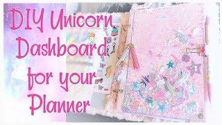 DIY Unicorn Dashboard Shaker