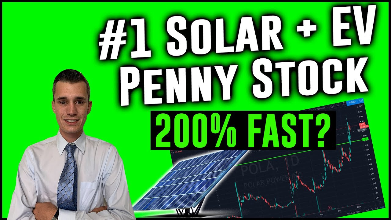 This Solar & EV Penny Stock Is Ready For Blast Off | 200% Potential?