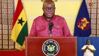 Prez. Akufo-Addo Addresses Ghanaians On Measures Taken Against Spread Of COVID-19