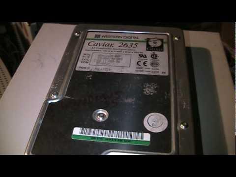 1995 Western Digital Caviar 2635 Hard Drive Sounds