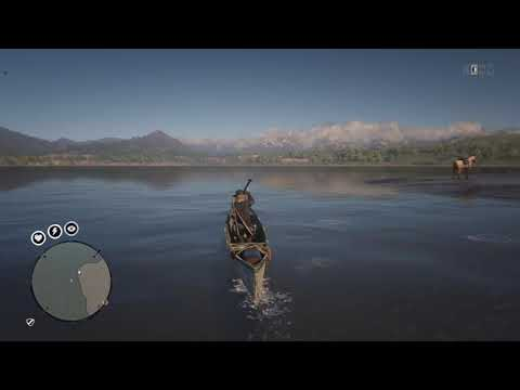 RDR2 Online - Canoe Location For Daily Challenge Distance Rowed A Boat Or Canoe