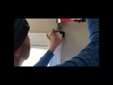 How to hang Kwikhang Curtain Rod Brackets