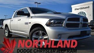 Walk Around 2016 RAM 1500 Sport | Northland Dodge | Auto Dealership in Prince George BC