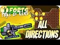 Explosive Fragmentation Cannon Forts Multiplayer Gameplay