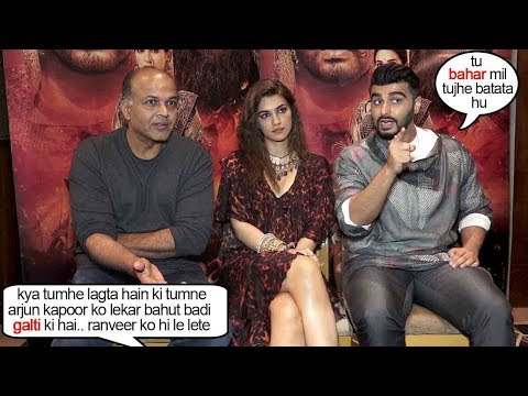 Panipat Director & Cast SH0K!NG Rxn On Selecting Arjun Kapoor As Bajirao Instead of Ranveer Singh Mp3