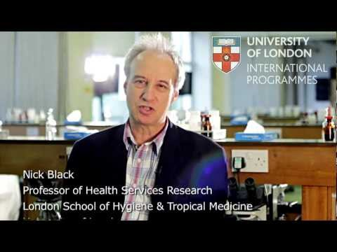 Course Overview: MSc Public Health - by Professor Nick Black