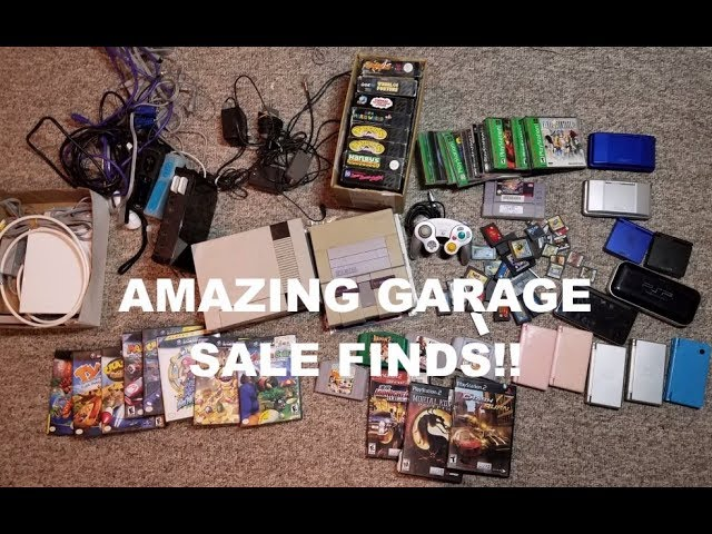 Video Game Garage Sale Finds