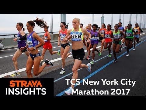 Strava Insights: TCS New York City Marathon 2017
