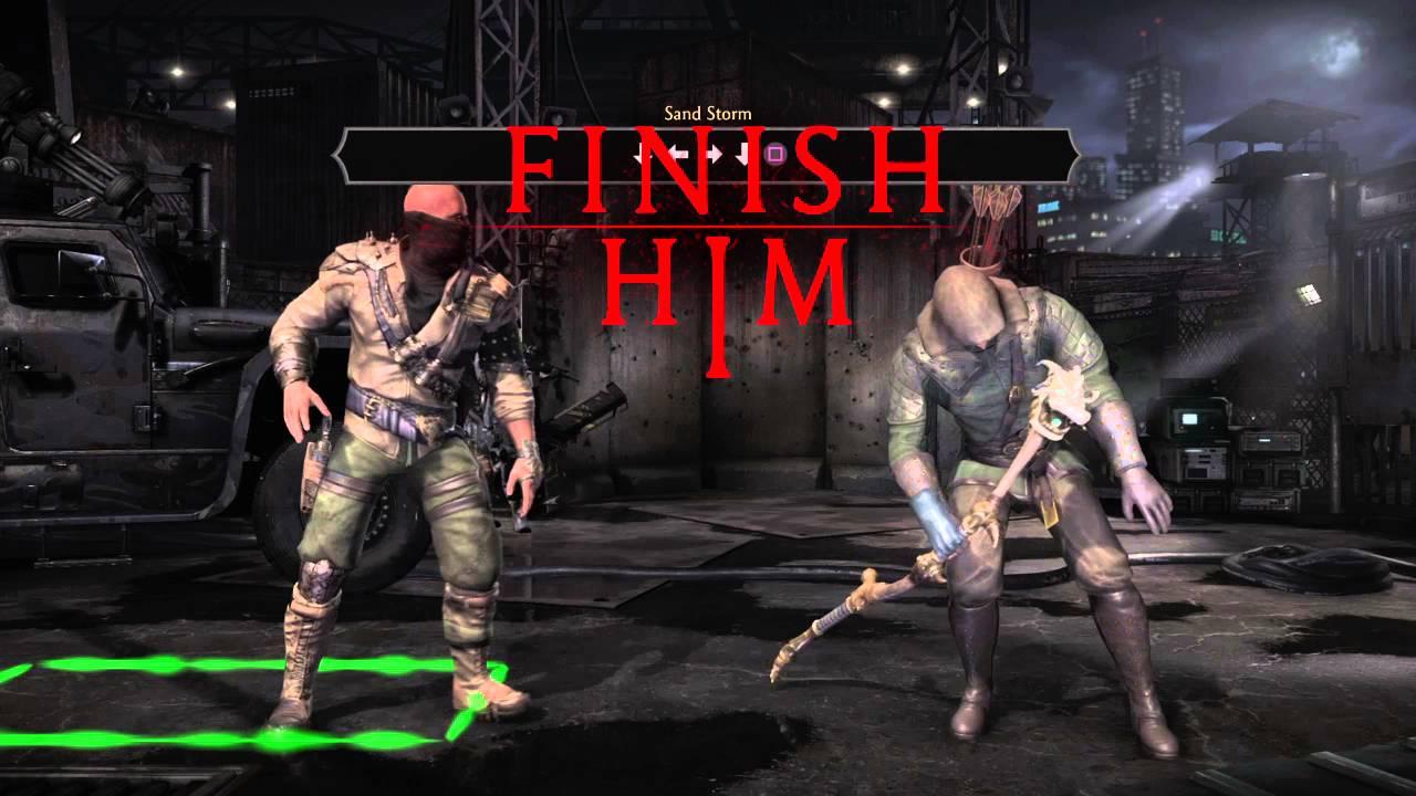 Mortal Kombat XL - Erron Black Stage Fatality
