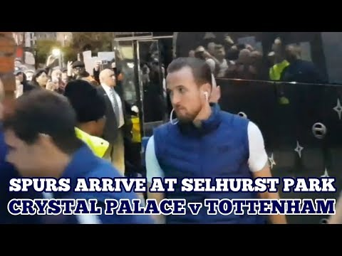 TOTTENHAM ARRIVE AT SELHURST PARK: Crystal Palace V Tottenham - 10 November 2018 Mp3