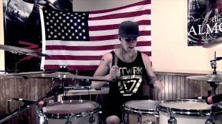 ten feet tall afrojack ft wrabel drum cover