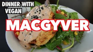 How to Make Vegan Yogurt & Dinner Vlog with Vegan Macgyver