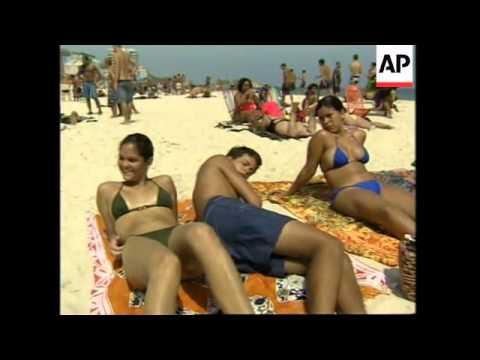 BRAZIL: EL NINO STRIPS COPACABANA AND IPANEMA BEACHES OF SAND