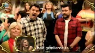 Beyazdan Demet Akalına Türkan Klibi Cevabı - Beyaz Show 19 Aralık 2014