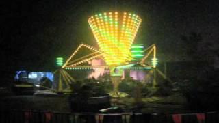 Scrambler ride at Kings Island during Halloween Haunt