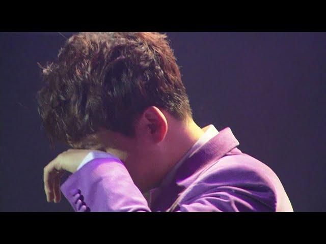 박서진 쇼 콘서트 도중 눈물을 흘린이유?