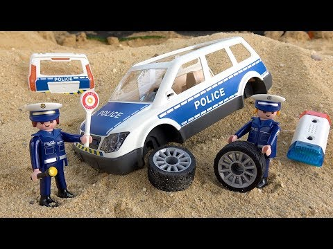 Police Squad Car Unboxing and Assembling with Lights & Sound