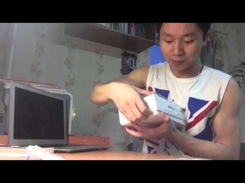 Unboxing iPad mini 4g white in Russia