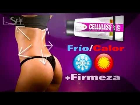 Modo de aplicacion de Celluless gel reductor de abdomen para mujer