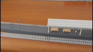 迷列車を買う16鉄道模型Nゲージの駅が割れ大ショック!0系新幹線を走らせてみるが…
