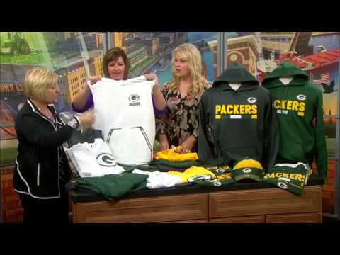 54f42af6b81 Green Bay Packers Pro Shop - 2017 - Sideline Gear - YouTube