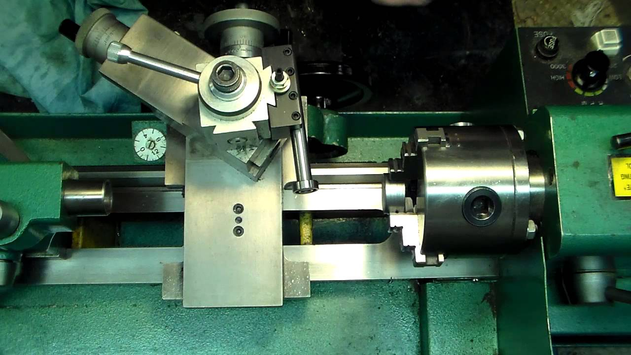 Truing small parts on the Lathe