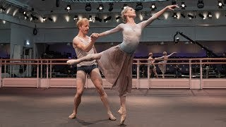 Darcey Bussell joins the Royal Ballet for a rehearsal of Mayerling