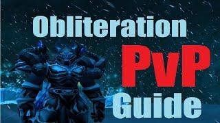 8.0 Frost DK PvP Guide - Obliteration Burst Spec - Consistent Damage