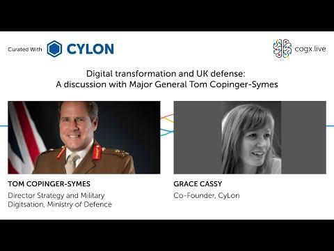 Cyber & Defence: Digital transformation and UK defence, with Major General Tom Copinger-Symes