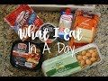 WHAT I EAT IN A DAY | Post VSG | Weight Loss Surgery