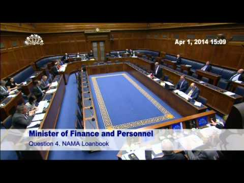 Question Time: Finance and Personnel 01 April 2014