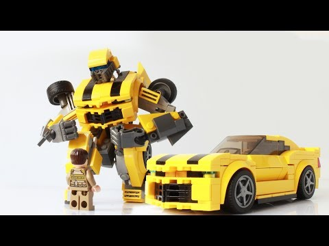 How to make a Lego Transformers Bumblebee (new Camaro version)