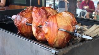 Традиционное чешское блюдо...божи, сколько мяса.