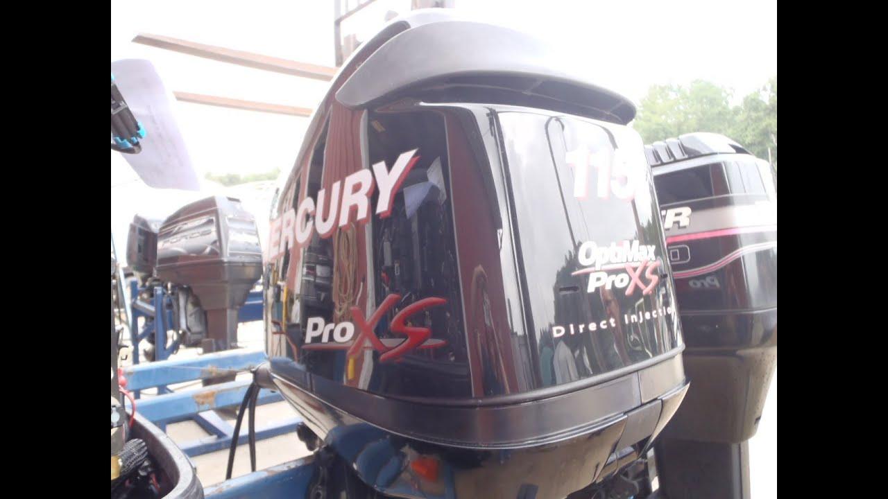 1b Used Mercury 115 Dfi Pro Xs Optimax 115hp 2