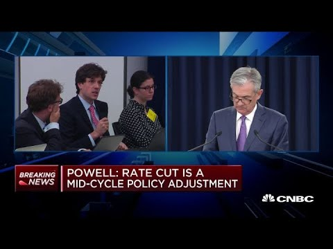Fed chair Powell defends 25 basis point cut