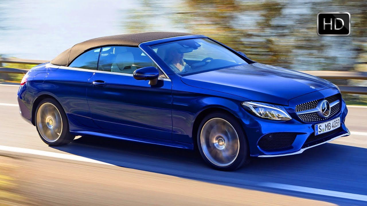 Video 2017 mercedes benz c400 4matic cabriolet with 3 0l for Mercedes benz c400 4matic