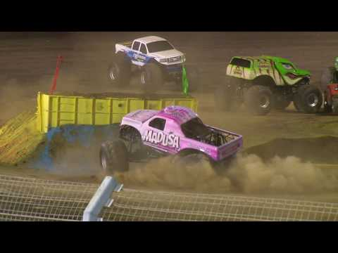A season full of adrenalin! A mixture of all that happens at Perth Motorplex. Drag Racing, Speedway, Burnouts, Demo Derby and Monster Trucks. - dirt track racing video image