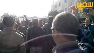 مدنين : تجمع احتجاجي على تصريحات السبسي