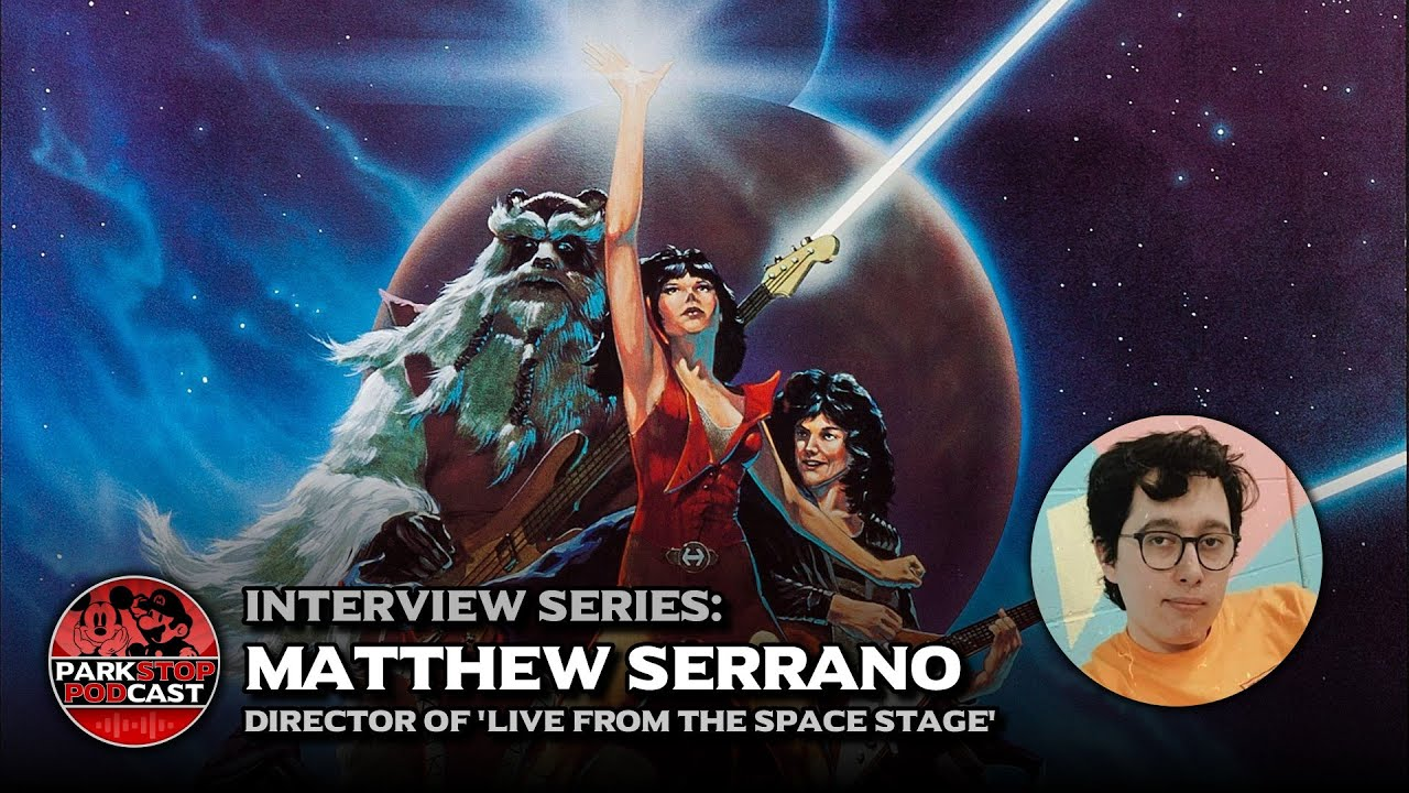 Matthew Serrano, Director of Live from the Space Stage - ParkStop Interview