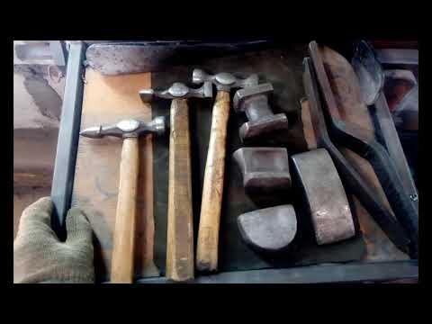 Набор ручного инструмента для рихтовки. (Для начинающих)