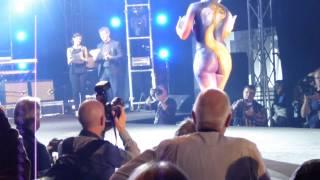 vuclip SWISS BODYPAINTING ART FESTIVAL 2013 LUGANO  FULL HD ''PRESENTATION'' video 10 / 32 mts format