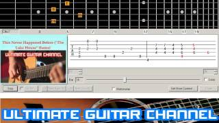 """[Guitar Solo Tab] This Never Happened Before (""""The Lake House"""" theme)(Paul McCartney)"""