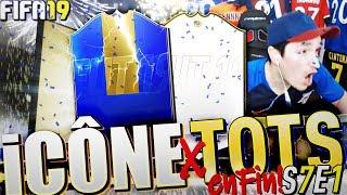 ENFIN je PACK 1 ICÔNE + du TOTS ULTIME ! 🔥 FIFA19 Pack Opening