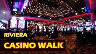 Walking through the Riviera Hotel & Casino FOR THE LAST TIME! - 4K HD in Las Vegas