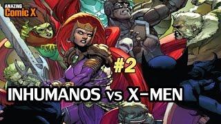 INHUMANOS vs X-MEN #02 - Comienza la Batalla por la supervivencia - Comic en español - Narrado
