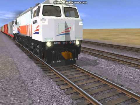 Trainz simulator 12 pt kai ge cm20emp with indonesian container trainz simulator 12 pt kai ge cm20emp with indonesian container freight reheart Choice Image