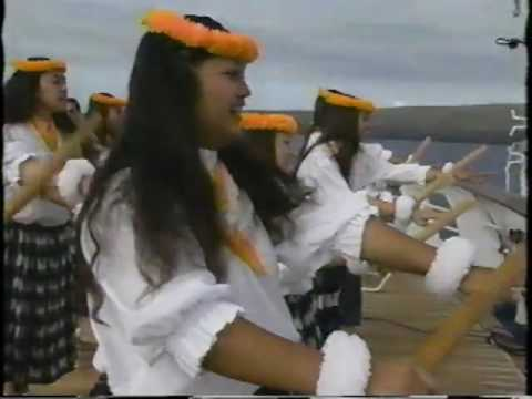 Backstage Merrie Monarch 1994_2