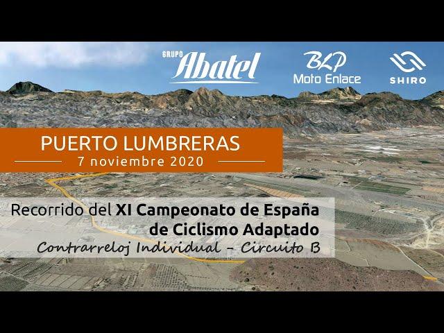 Puerto Lumbreras. XI Campeonatos de España de Ciclismo Adaptado. Contrarreloj Individual Circuito B