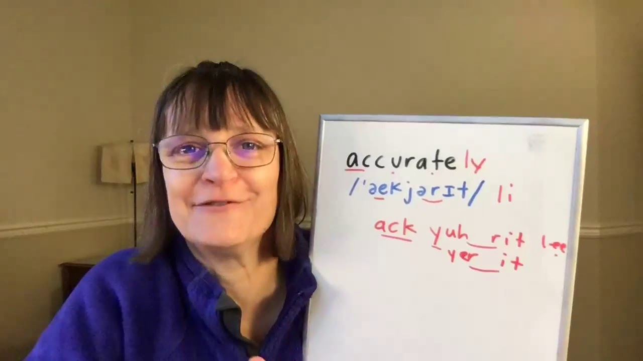 How to Pronounce Accurate and Accurately